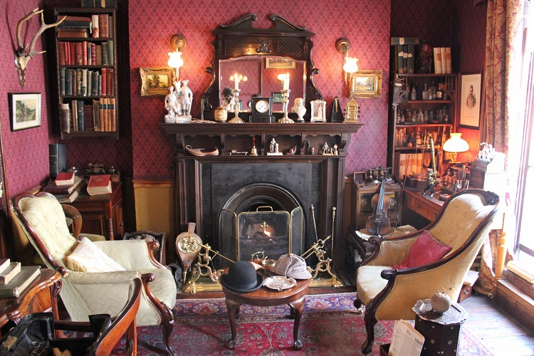 Mademoiselle loves books 7 lugares que todo amante de - Casa de sherlock holmes ...