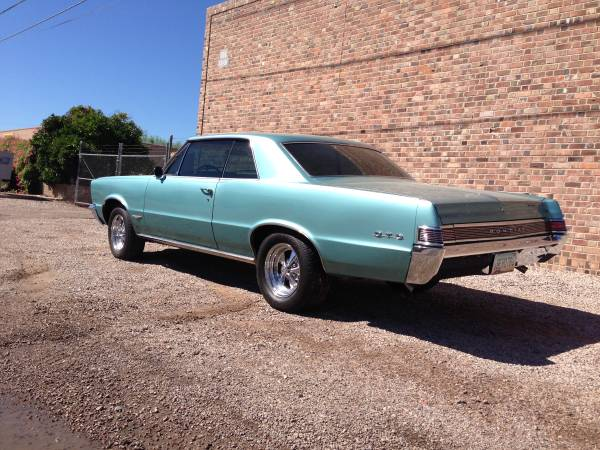 1965 pontiac gto for sale buy american muscle car. Black Bedroom Furniture Sets. Home Design Ideas