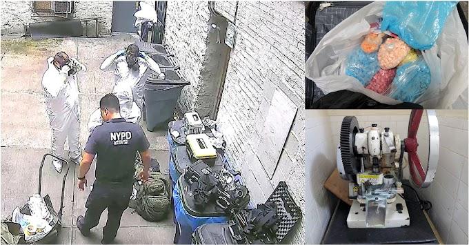 Superintendente dominicano y cómplices arrestados en fábrica de psicotrópicos en El Bronx