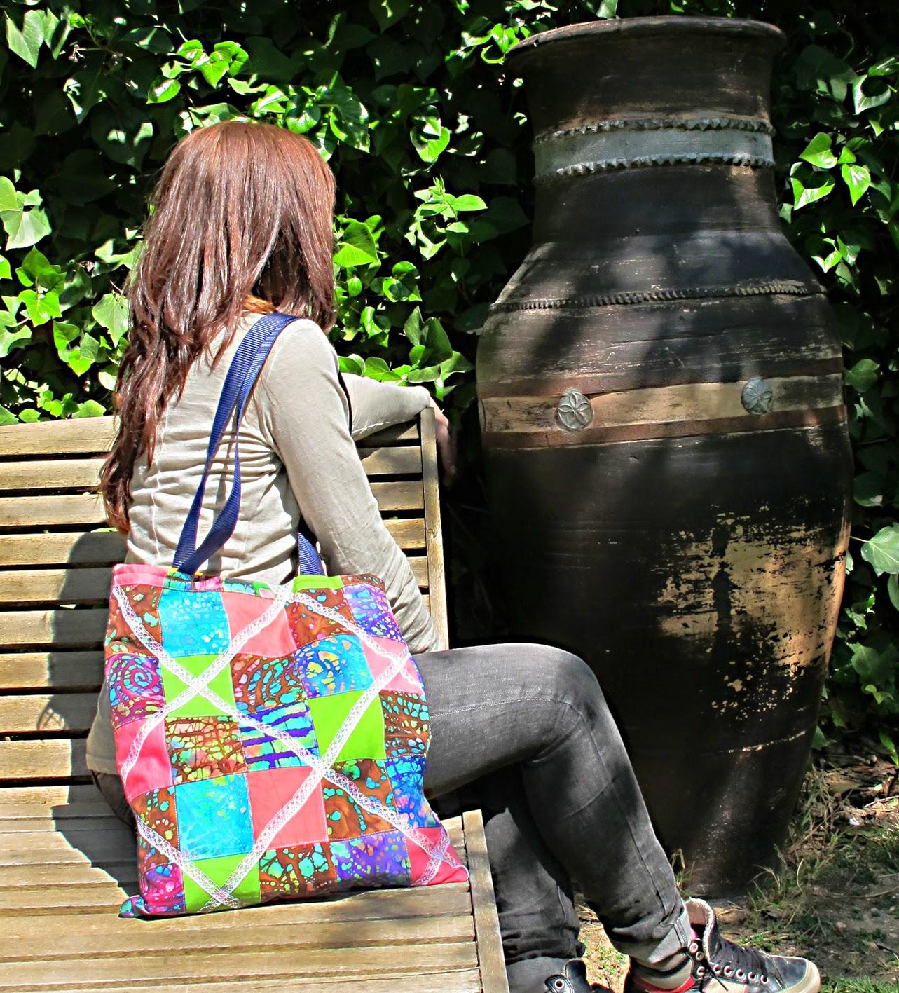 bolsos, moda sostenible, finales stock, tote bag