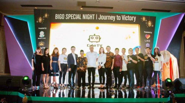 Beri Kesempatan Bagi 'Gamers' Indonesia di Arena eSport, Bigo Luncurkan Cube TV