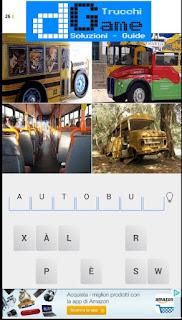 Soluzioni 4 Foto 1 Parola livello 4