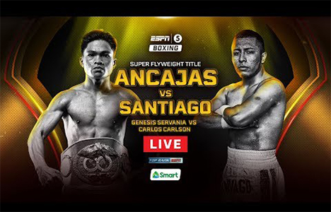 BOXING: Jerwin Ancajas vs Alejandro Santiago Barrios (REPLAY) September 29 2018 SHOW DESCRIPTION: For the sixth time, Filipino boxer Jerwin Ancajas will put his International Boxing Federation (IBF) super flyweight […]