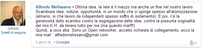 Linkedin open networker closed networker
