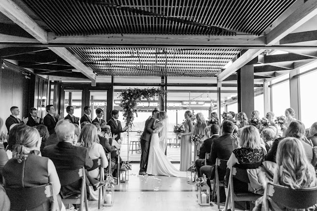 District Winery Wedding photographed by Heather Ryan Photography