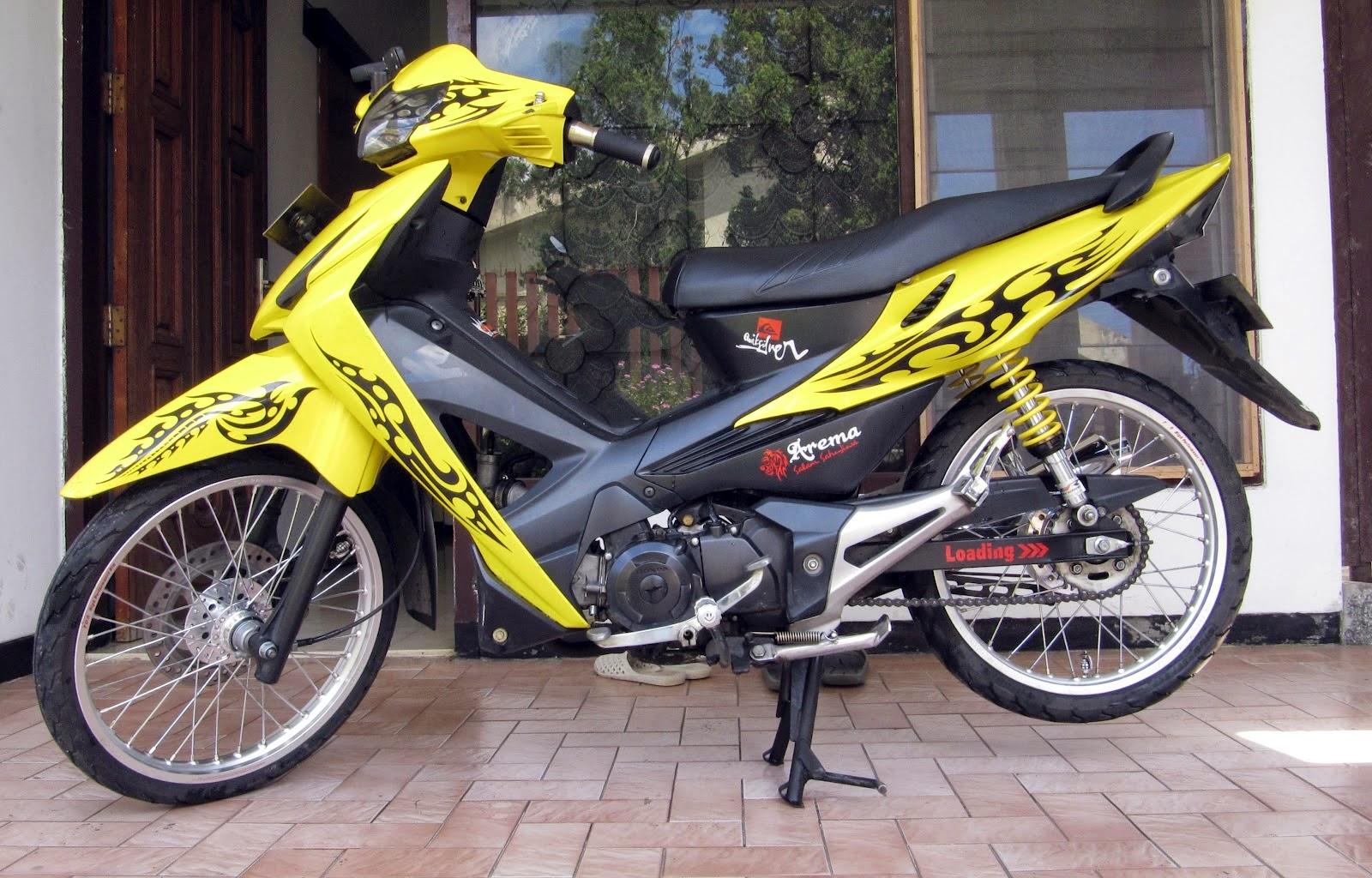 Koleksi Foto Modifikasi Motor Honda Revo 110 Terlengkap Tales Modif