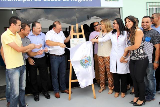 Prefeito Gilson Fantin entrega a população Unidade de Saúde da Família do Xangrilá