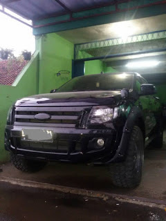 Over Fender all new Ford Ranger galerry model kunci L.