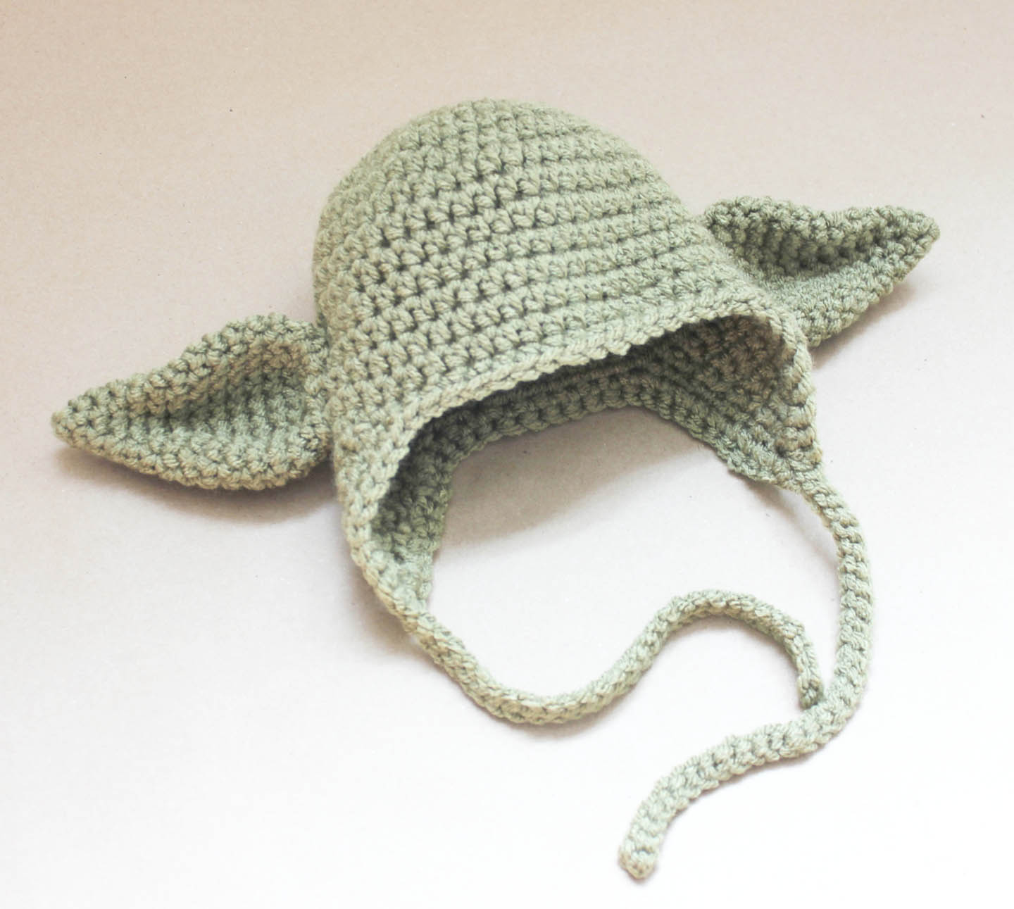 Crochet Yoda Hat - Repeat Crafter Me f9637a24def