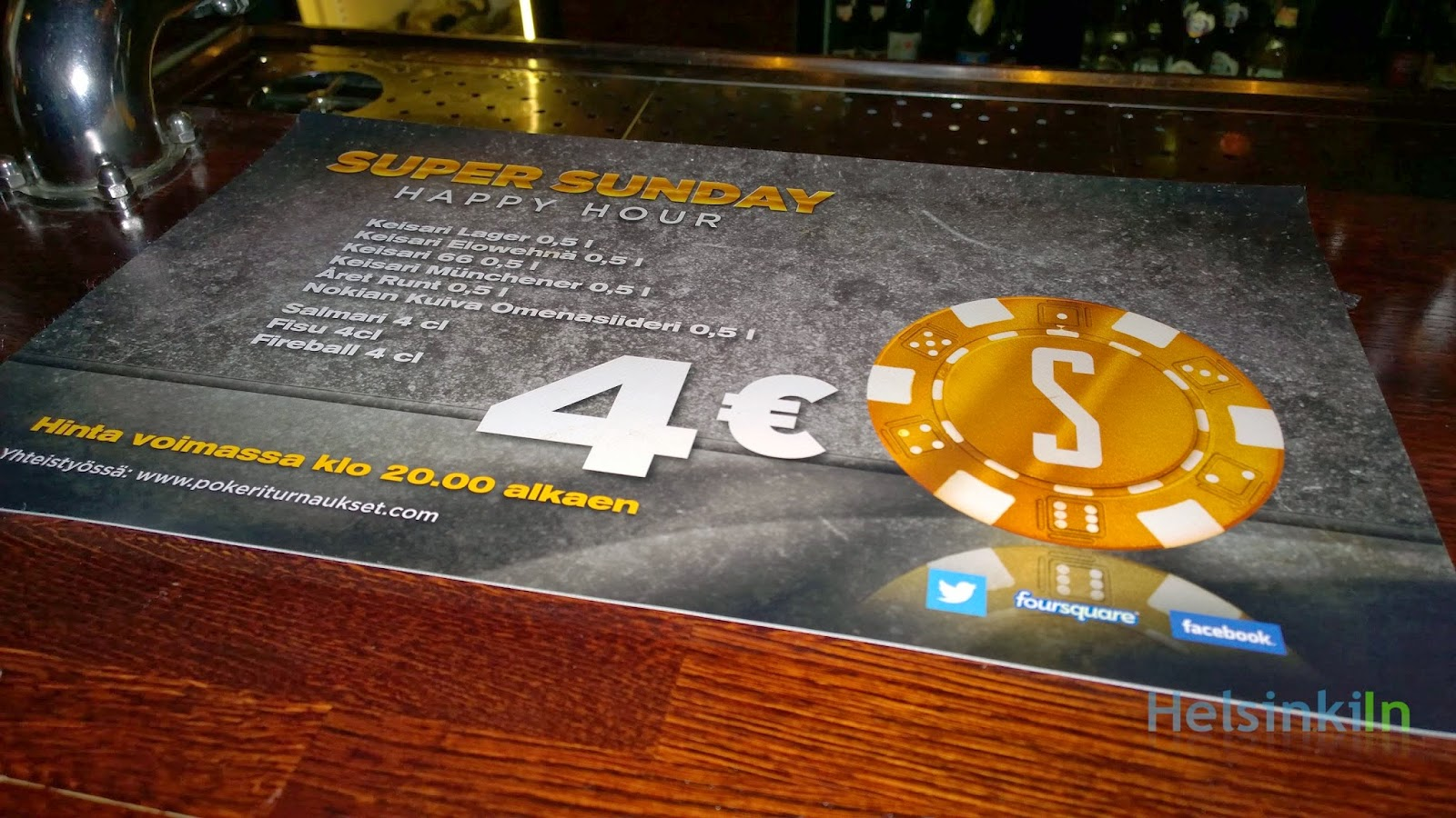 Super Sunday at Stone's