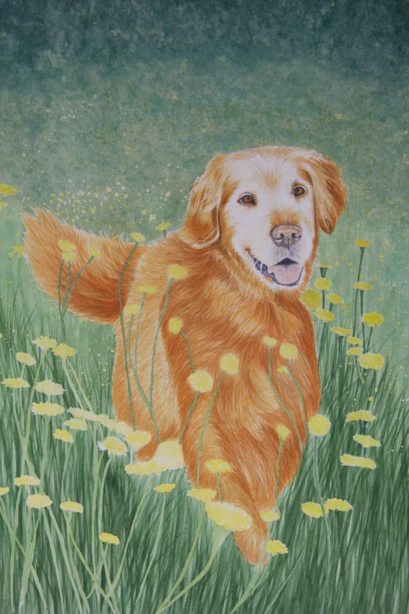 Tracey Costescucommission Portraits Original Artwork Watercolor