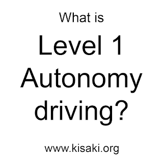 What is Level one autonomy driving mode