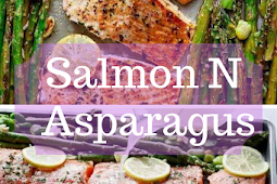 One Pan Lemon Garlic Baked Salmon N Asparagus Ketogenic Recipes