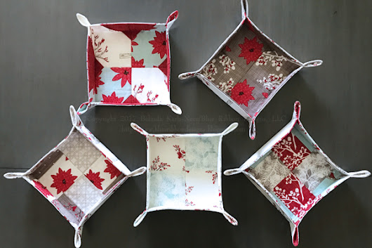 All Bundled Up Fabric Baskets