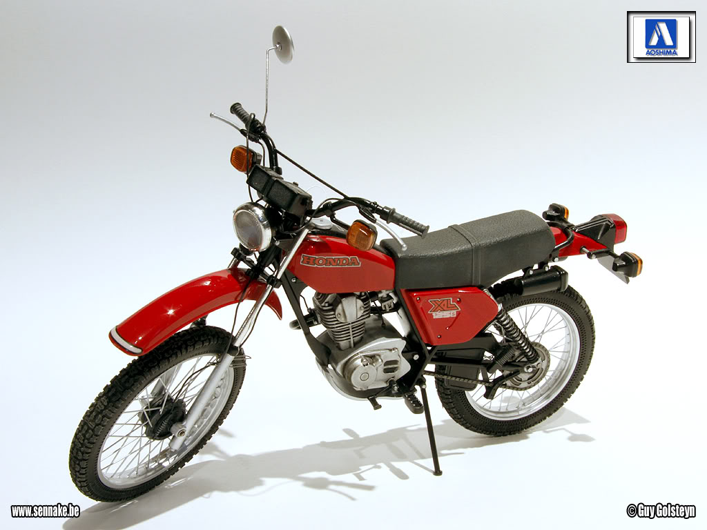 Racing Scale Models  Honda Xl 125 S 1979 By Sennake  Aoshima