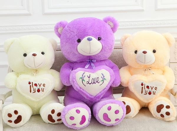 Sweet I Love You Teddy Bear Wallpapers