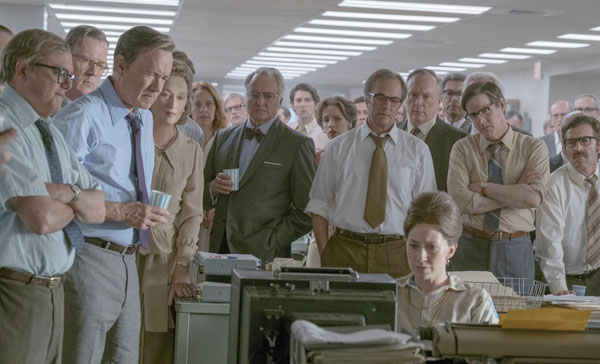A scene from THE POST (2017)