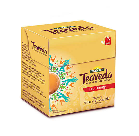 Rs. 60 Tata Tea Teaveda - Pro Energy 10 tea bags