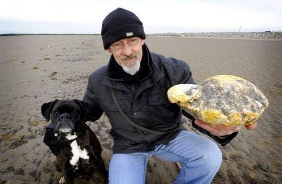Barang Aneh dan Bernilai yang Ditemui di Tepi Pantai