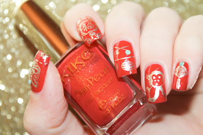 Chinese New Year Nail Art