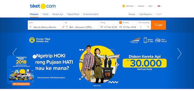Tiket Pesawat & Hotel Murah - Tiket Kereta Api dan Promo | tiket.com