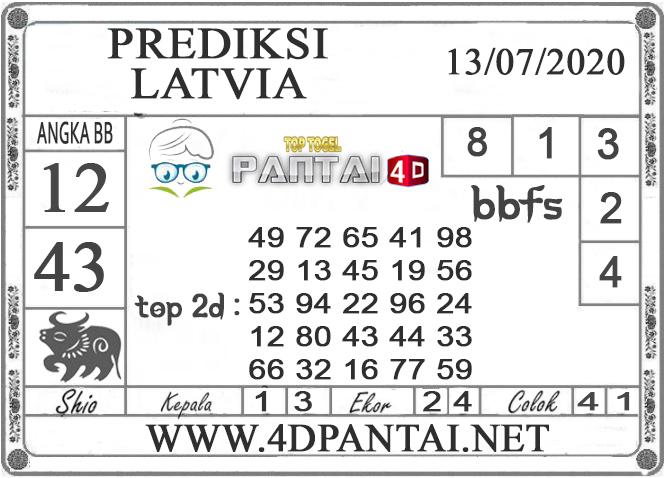 PREDIKSI TOGEL LATVIA PANTAI4D 13 JULI 2020