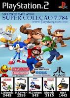 Super Coleção 7.784 Games (PS2)