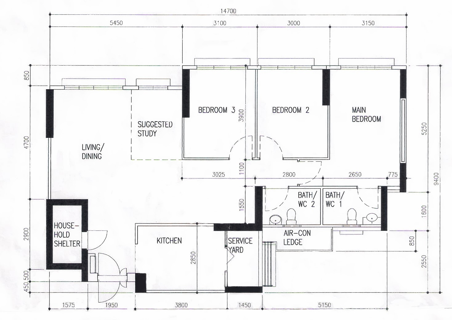 Apartment Shop Plans