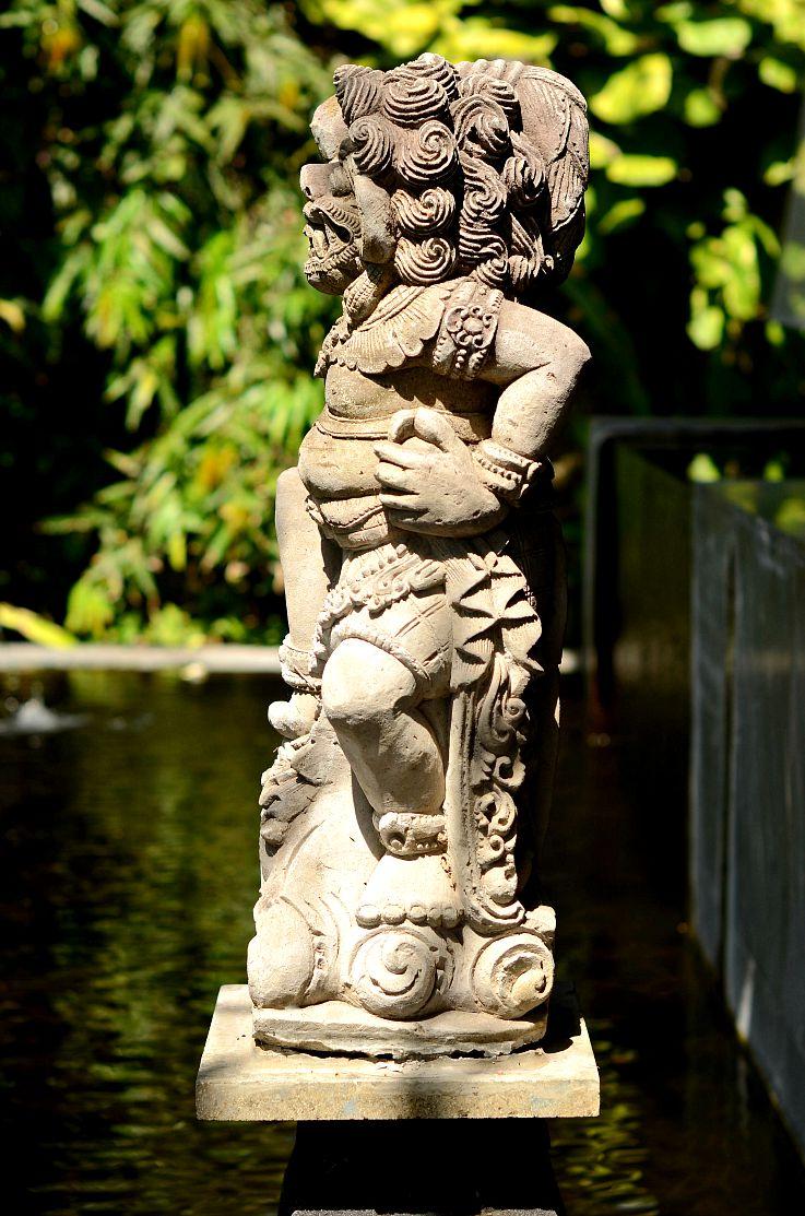 Bali Statue, Bali, Indonesia, Legian Beach Hotel