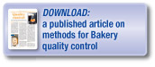 Download a published article covering methods for the testing of bakery products