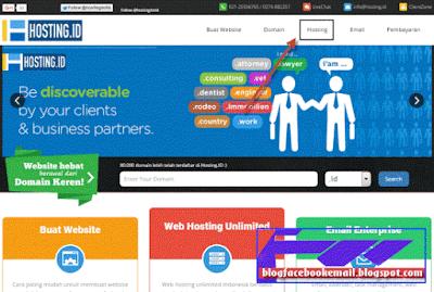 cara membeli hosting indonesia