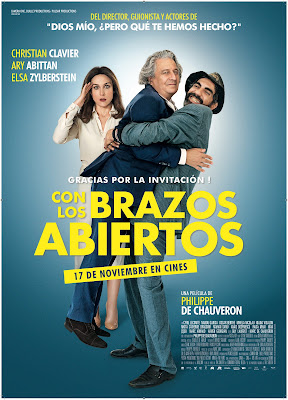 À Bras Ouverts 2017 DVD R2 PAL Spanish