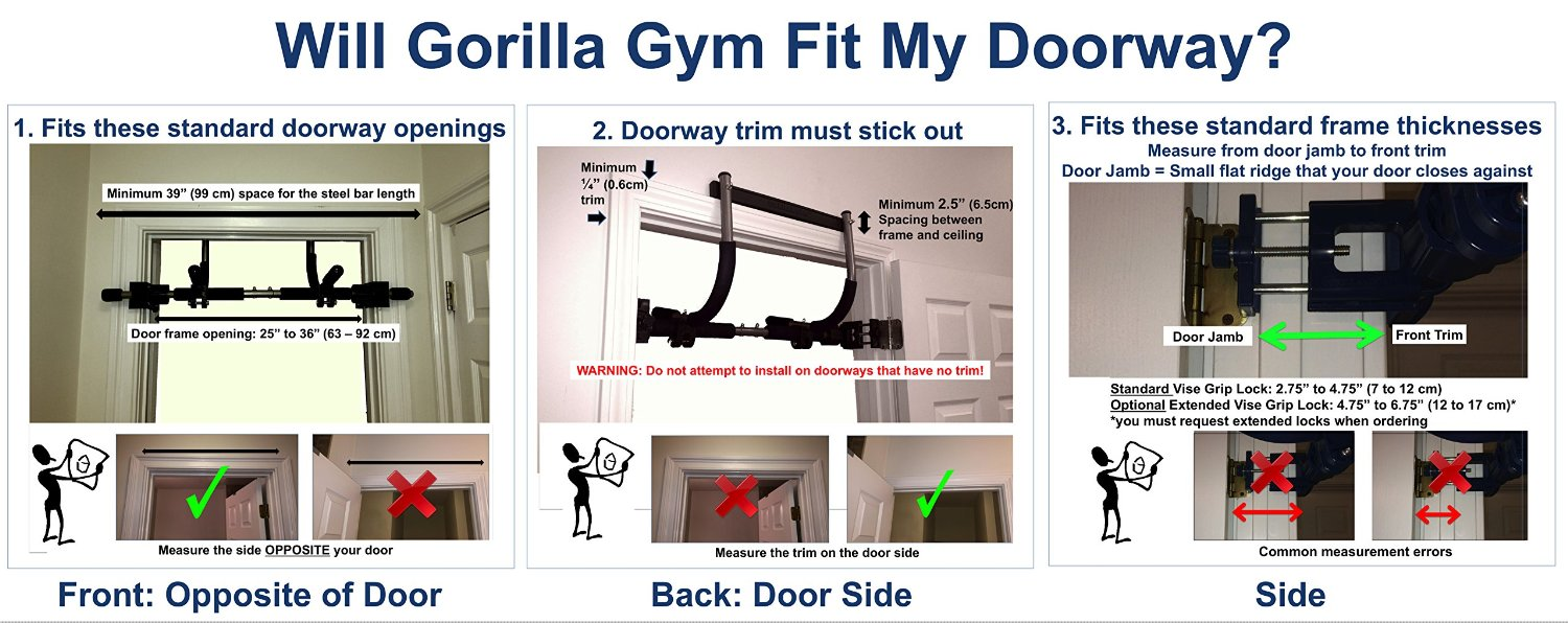 Poo Gorilla Gym Kids With Indoor Swing Plastic Rings Trapeze Bar
