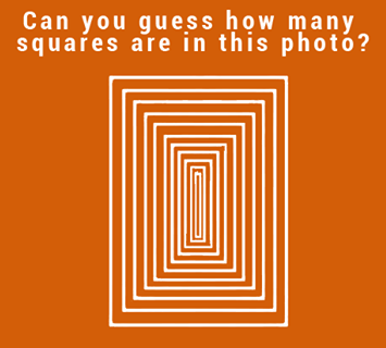How Many Squares in this Photograph