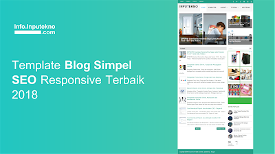 Free Template Blog Simple SEO Friendly Responsive Terbaik 2019
