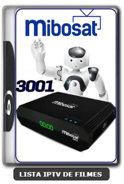 Mibosat 3001 Nova Atualização Correção SKS 61W V3.0.16 - 25-06-2020