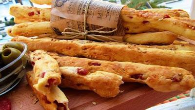 Grissini štapići / Grissini breadsticks