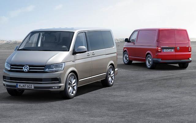 VW Transporter - 5º carro mais vendido da Alemanha