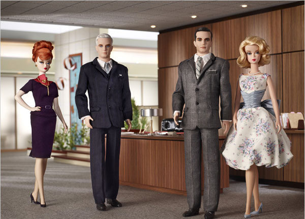 Mad Men Barbie Dolls. Robert Best