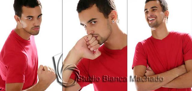 Fotografias para carreira de modelo