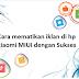 Cara mematikan atau menghilangkan iklan di hp xiaomi MIUI dengan Sukses