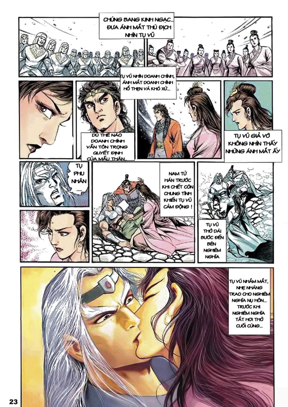 Tần Vương Doanh Chính chapter 8 trang 23