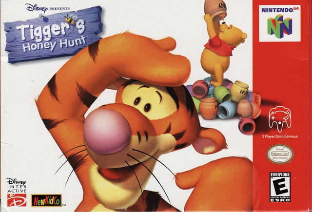 Tiggers Honey Hunt ROMs Nintendo64 Español