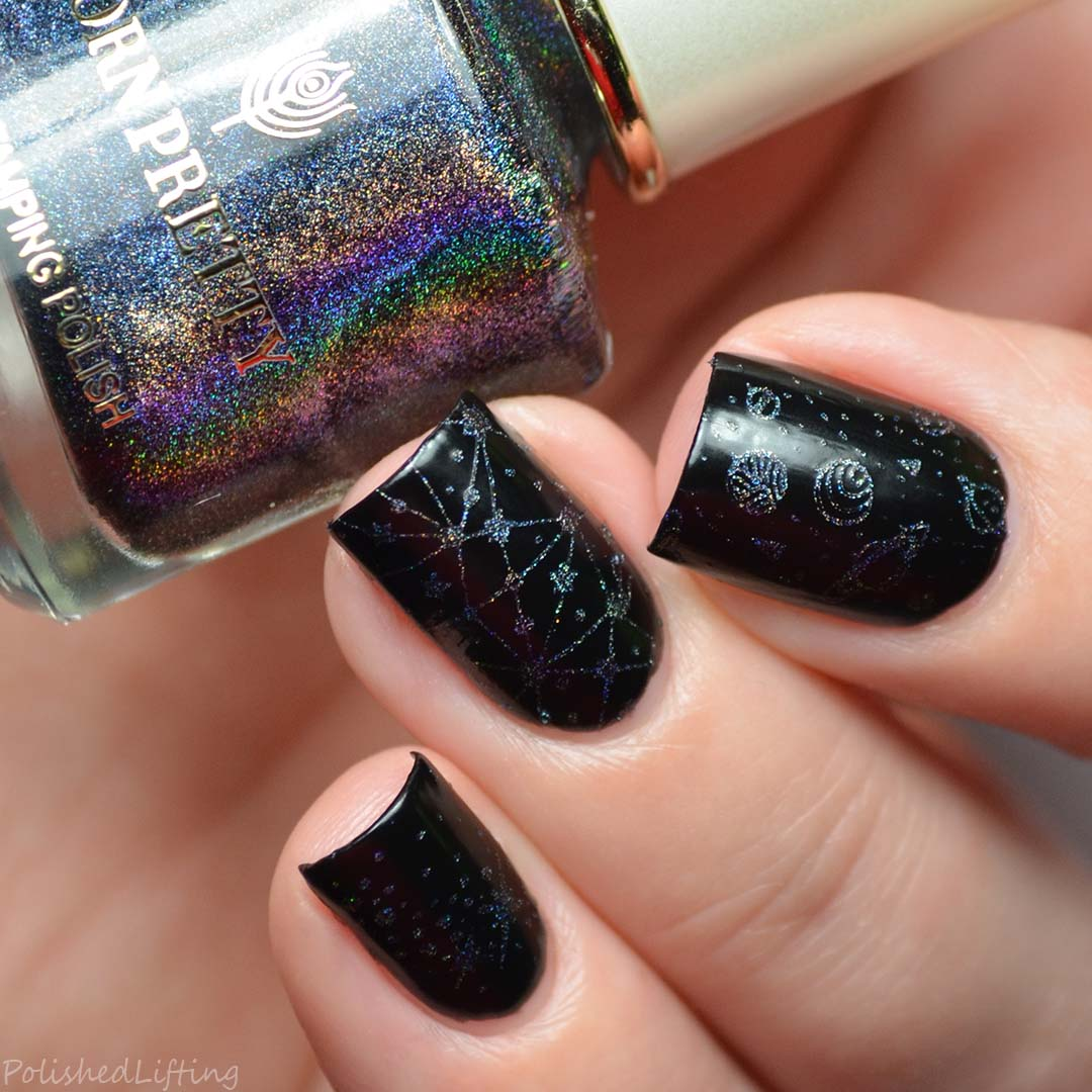 Outer Space Nail Art feat. Born Pretty Store & Maniology ...