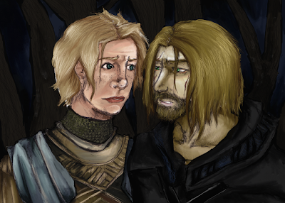 Jaime Lannister & Brienne of Tarth (A Song of Ice and Fire) by George R.R. Martin