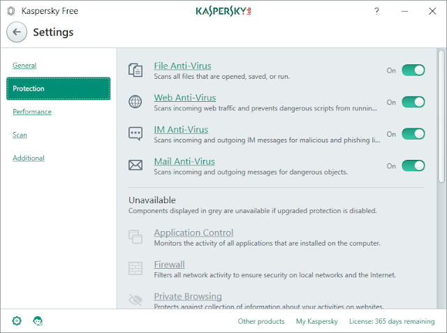 Kaspersky Free AntiVirus 2018 Download