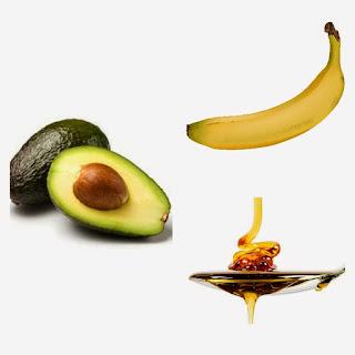 banane+avocat+miel