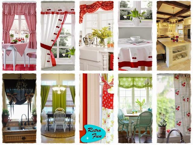 Elegant Kitchen Curtains - Modern & Stylish Kitchen Window Treatments And Valance Patterns