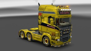 M.M.Acquisitions LTD. Scania R skin mod