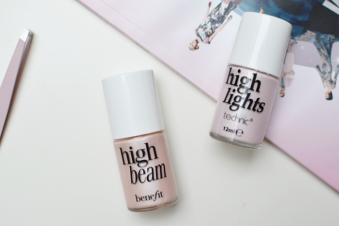 Benefit High Beam vs Technic High Lights | Colours and Carousels - Scottish Lifestyle, Beauty and Fashion blog